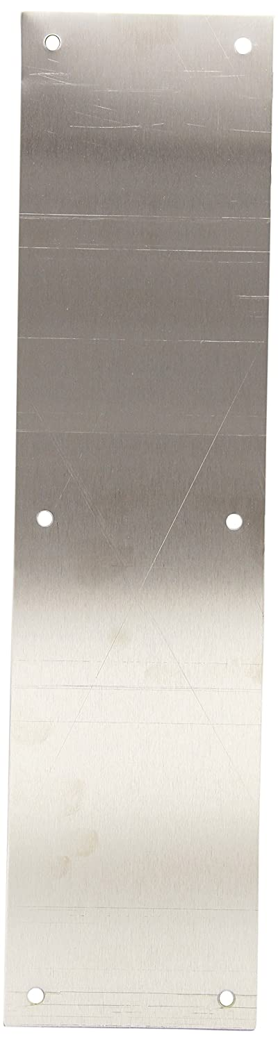 Hager 052482 30S 4' x 16' US32D Square Corner - Beveled Push Plate Hager Companies