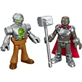 Fisher-Price DC Super Friends Imaginext Steel & Metallo Action Figure