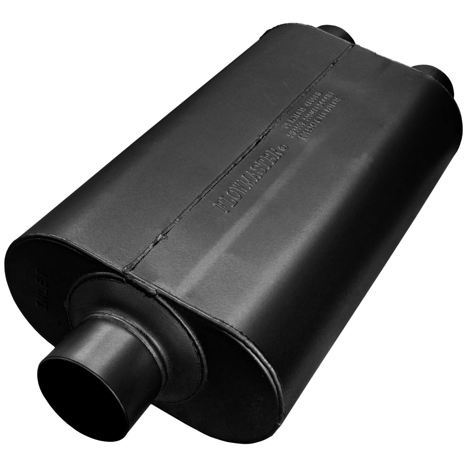 Flowmaster 9530572 50 H.D. Muffler - 3.00 Center IN / 2.50 Dual OUT - Moderate Sound