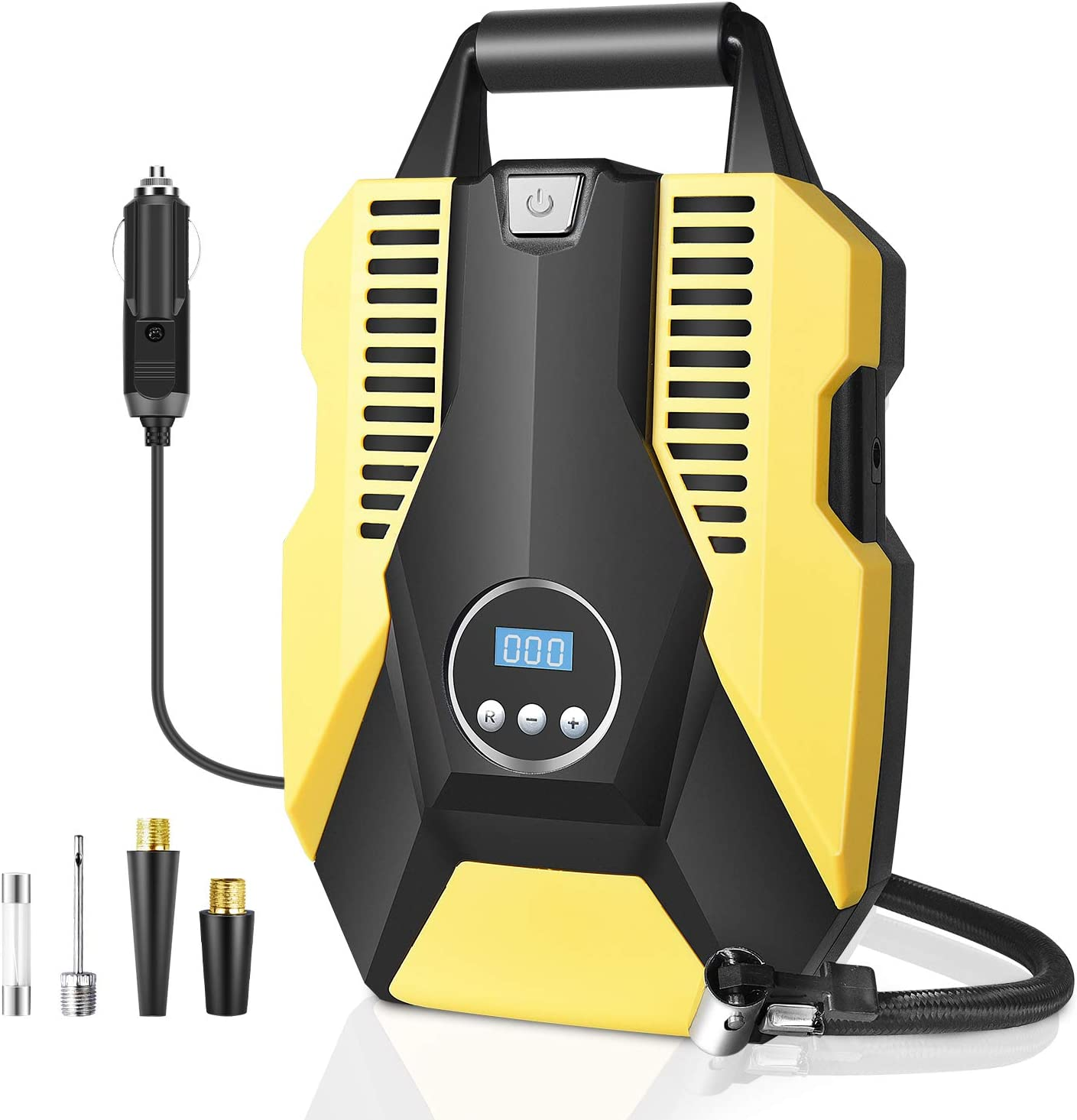 Details about  /12V Tire Inflator Car Air Pump Compressor 150 PSI Electric Cordless Rechargeable