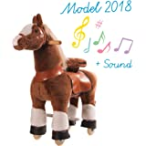 Ponycycle Toy Ride on Pony Horse Beige Small by PonyCycle
