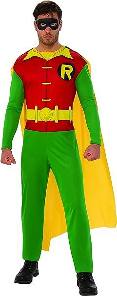 Batman - Disfraz de Robin para hombre, Talla M adulto (Rubies ...
