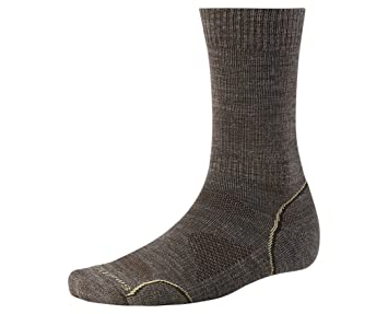 Amazon.com : Smartwool Men's PhD Outdoor Light Crew Socks (Taupe ...:Smartwool Men's PhD Outdoor Light Crew Socks (Taupe) Medium- Past Season,Lighting