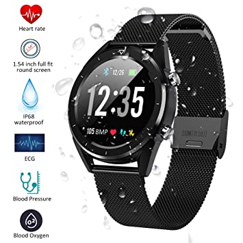 Padgene Smartwatch, Reloj Inteligente Bluetooth SmartWatch ...