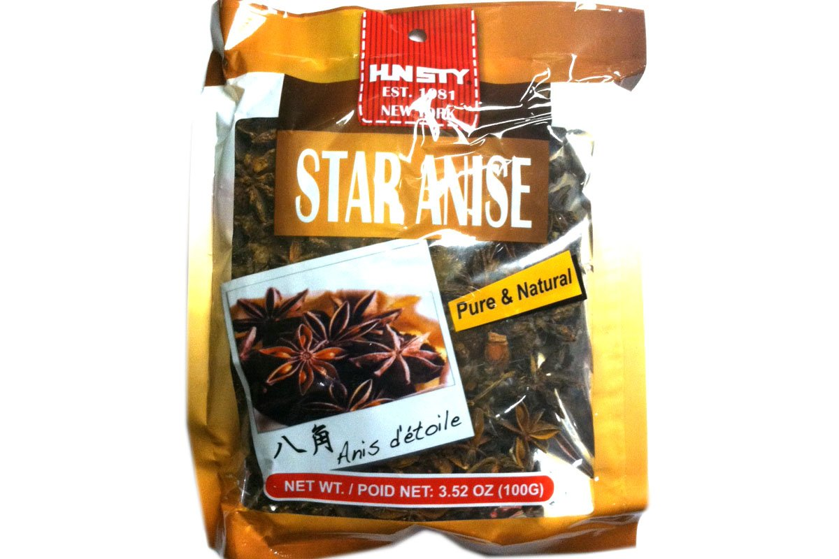 Star Anise (Pure & Natural) - 3.52oz (Pack of 3)