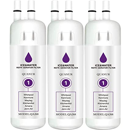 BOBY Refrigerator Water Filter Compatible with Ken/_More 9081 9930 Water Filter Purple Pack of 2