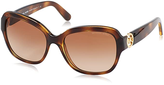 93eb46a9ef Michael Kors MK 6027 Tabitha Iii Sunglasses 300613 Havana  Amazon.ca ...