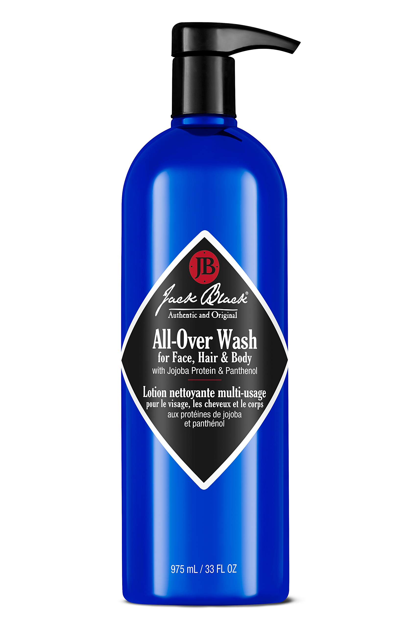 Jack Black All-Over Wash For Face, Hair & Body, 33 fl. oz. by Jack Black