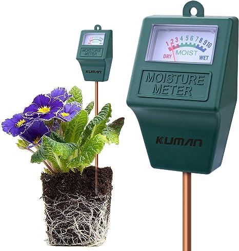 Soil Moisture Meter Water Sensor Monitor Indoor Outdoor Garden Lawn Hygrometer