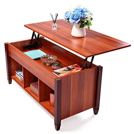 Lift Top Coffee Table Solid Wood 1