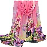Women Long Scarf, FEITONG Fashion Women Long Soft Wrap scarf Ladies Shawl Chiffon Scarf Scarves