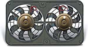 Flex-a-lite 430 Lo-Profile S-Blade Dual Electric Pusher Fan
