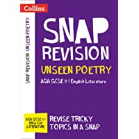Unseen Poetry: AQA GCSE 9-1 English Literature (Collins Snap Revision)
