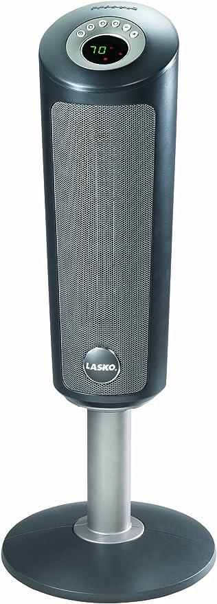 Amazon Com Lasko 6350 Digital Ceramic Pedestal Heater With Remote Control 30 Inch Home Kitchen