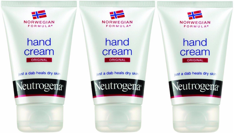 Neutrogena Norwegian Formula Hand Cream for Dry Chapped Hands, 2 Ounce (Pack of 3)