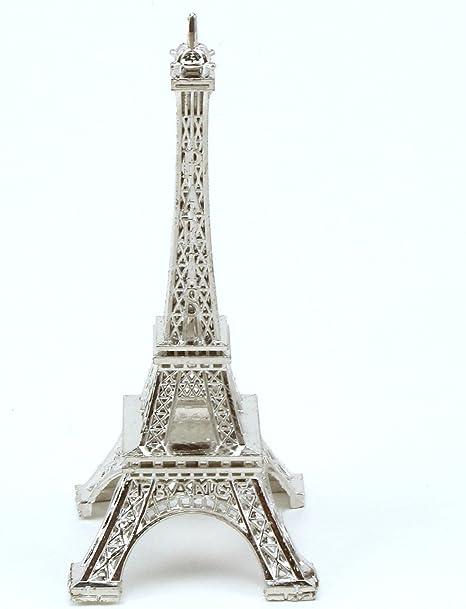 Living Room Metal Miniature Statue Eiffel Tower Model Souvenir Ornament 2 in 1