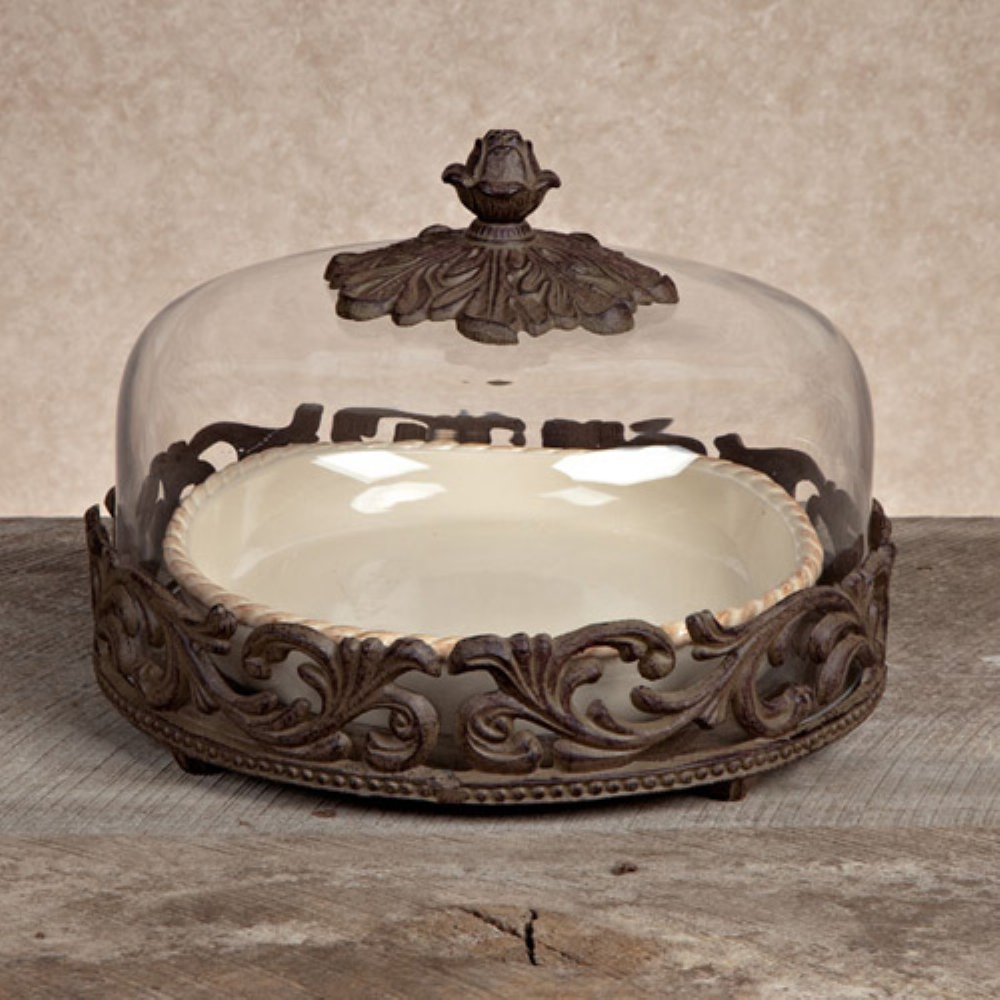 & Amazon.com | Pie Plate and Dome: Cake Stands: Platters