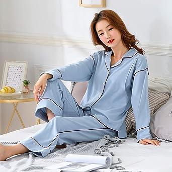 77251f323 Sujisi - Traje de 2 Piezas Pijama Lactancia de Algodón para Premamá Maternidad  Embarazada Ropa de