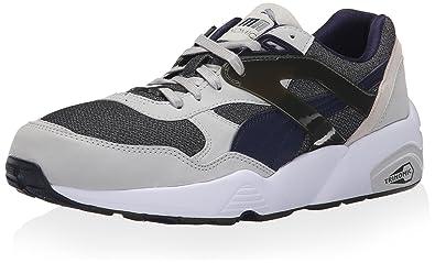 Mens Shoes PUMA R698 Modern Heritage Glacier Gray/Glacier Gray/Peacoat