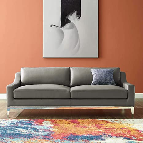 Amazon.com: Modway EEI-3444-GRY Harness Sofas, Gray: Kitchen ...
