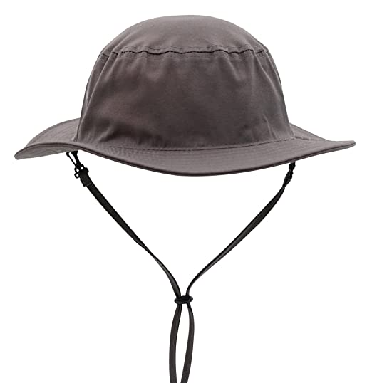 f85dbaf268548d Connectyle Outdoor Mens Daily Cotton Sun Hat Medium Brim Bucket Fishing Hats  Summer String Hat Cap