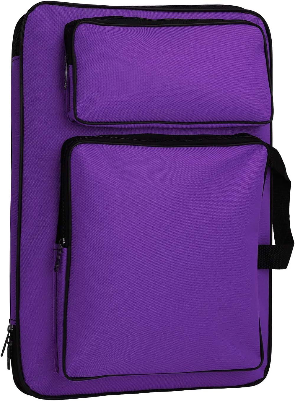 Waterproof Art//Craft Supplies Storage Tote Bag Artist Travel Portfolio Carrying Bag Case Painting Box Large Messenger Bag for Painting Brushes Pencils Palette Paints Sketchbook