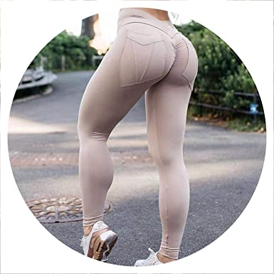 cf846f0e326bc Image Unavailable. Image not available for. Color: Fitness Leggings High  Waist Push Up ...