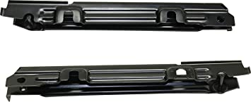 Bumper Bracket For 2001-2005 Mercedes-Benz C240 Set of 2 Front Left and Right