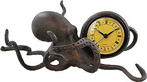 Octopus Table Desk Clock