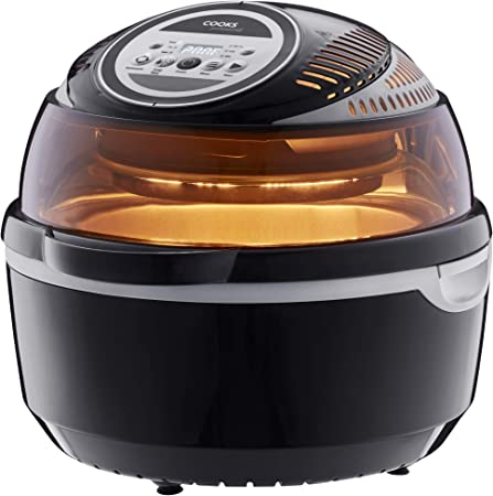 Cooks Professional Halogen Oven Rotisserie - LCD Display