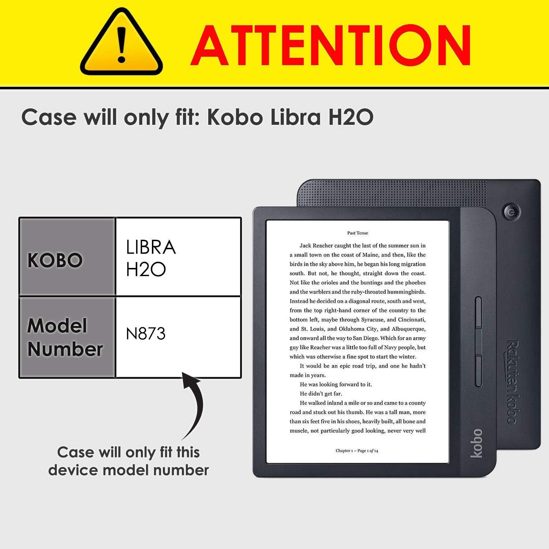 FC Funda para Kobo Libra H2O - Ligera Funda Kobo Libra H2O: Amazon ...