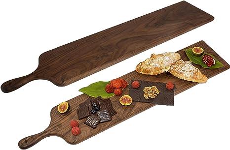 Bread Board Walnut Hexagon Charcuterie Board Cheese Board