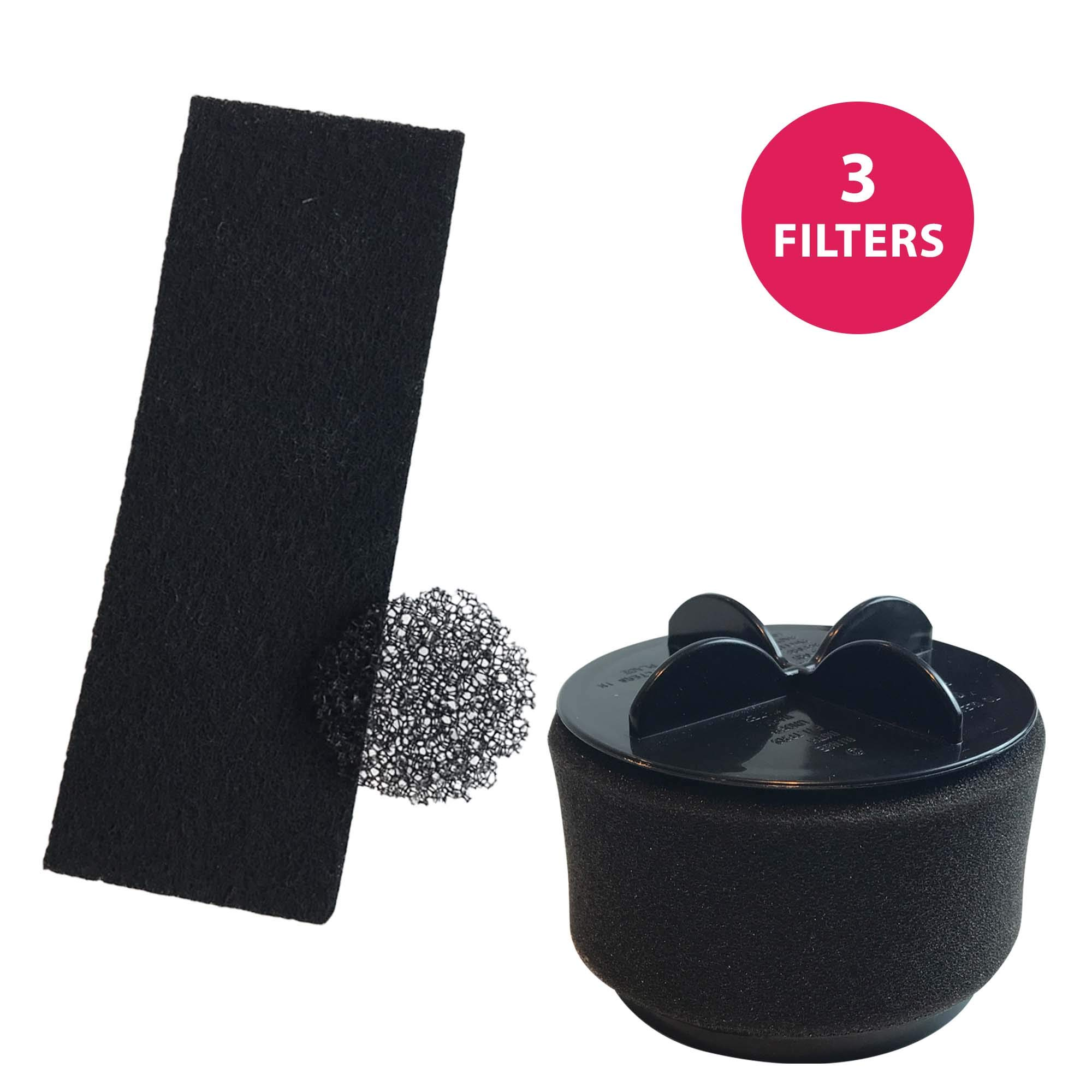 Think Crucial Replacement for Bissell Style 10 Filter Kit, Compatible With Part # 2032117, 2031085ES, 203108532065, 32064 & 32065