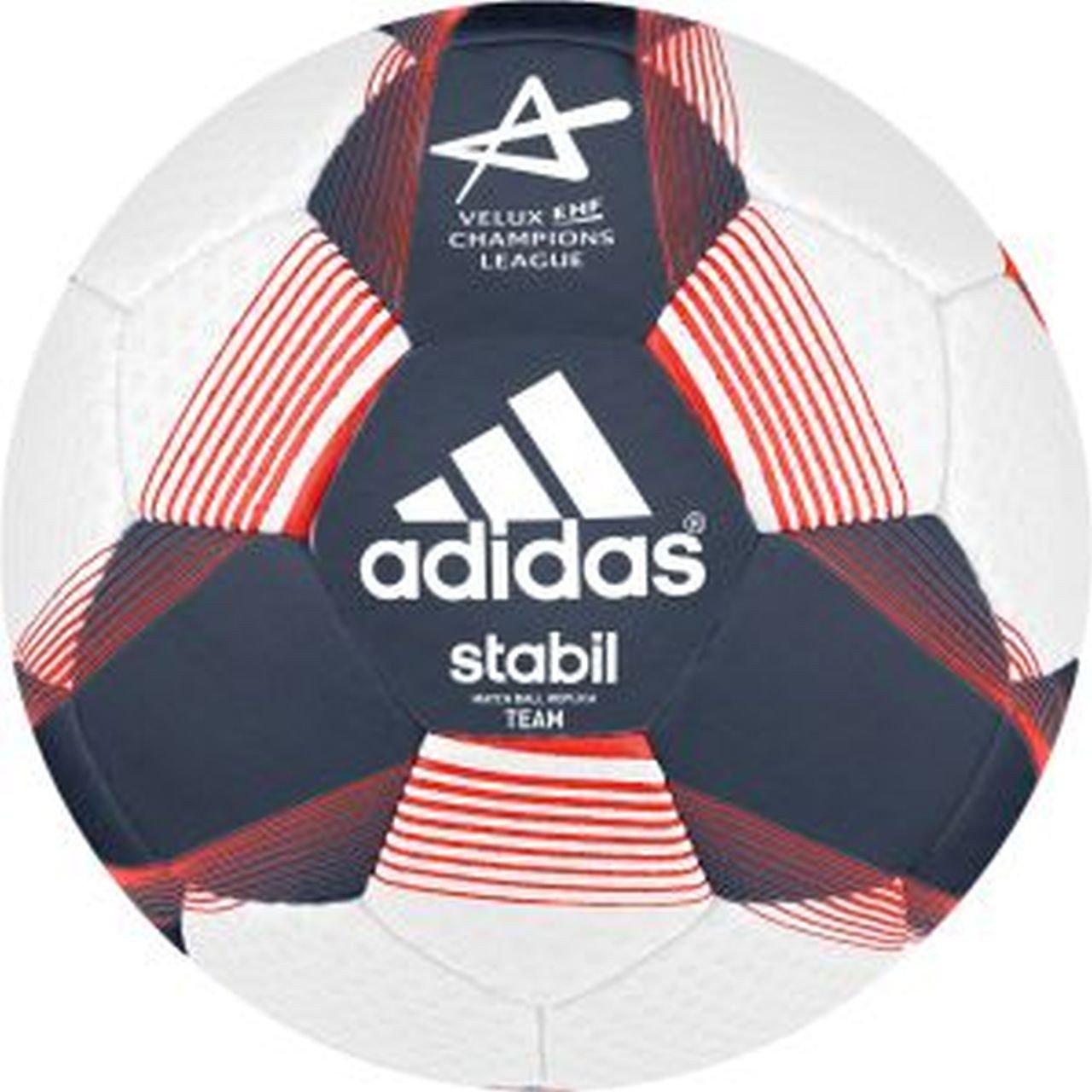 adidas balón de Balonmano Stabil Team Sport 7 Ricblu/White/Sol ...