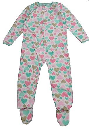 Carter s Child Of Mine Made Little Girls  Toddler Blanket Sleeper White ... 303904231