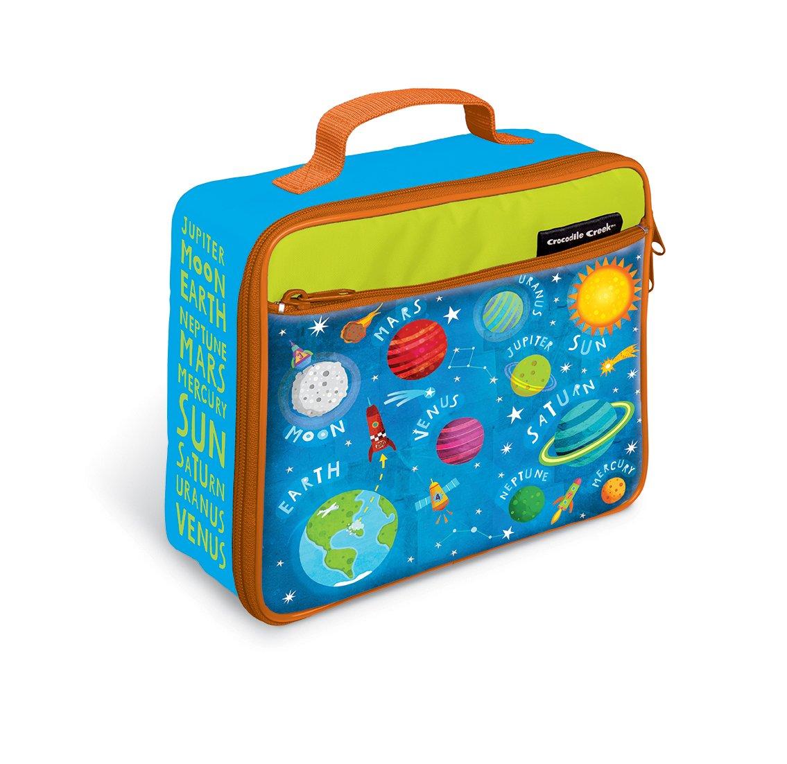 Crocodile Creek Eco Kids Solar System Insulated Kids' Lunchbox with Handle Kids', 10''