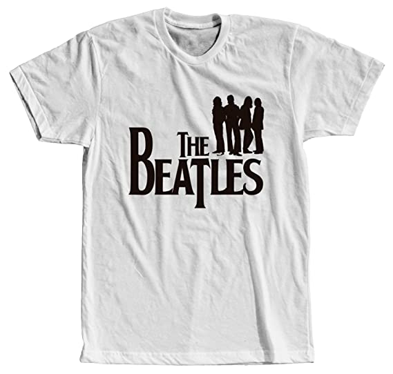 ae672614 Sac Apparel The Beatles - Cool Modern T-Shirt - Tees with Vinyl (X ...