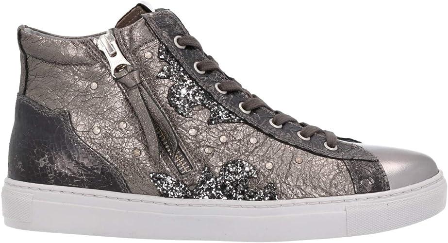 NERO GIARDINI Sneakers grigio scarpe donna 8965 DryGo mod