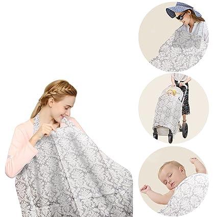 Cubierta De La Lactancia Del Bebé EarthSafe Bebé Cubiertas De Enfermería Bufanda De La Lactancia Materna