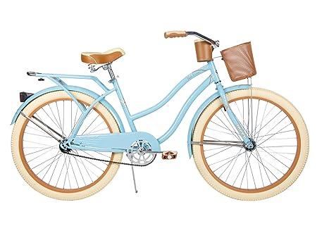 26' Huffy Nel Lusso Women's Cruiser Bike, Gloss Blue