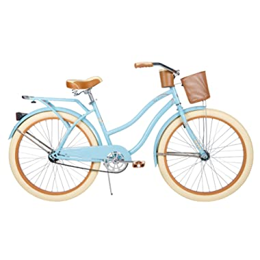 26  Huffy Nel Lusso Women's Cruiser Bike (Women's, Gloss Blue)