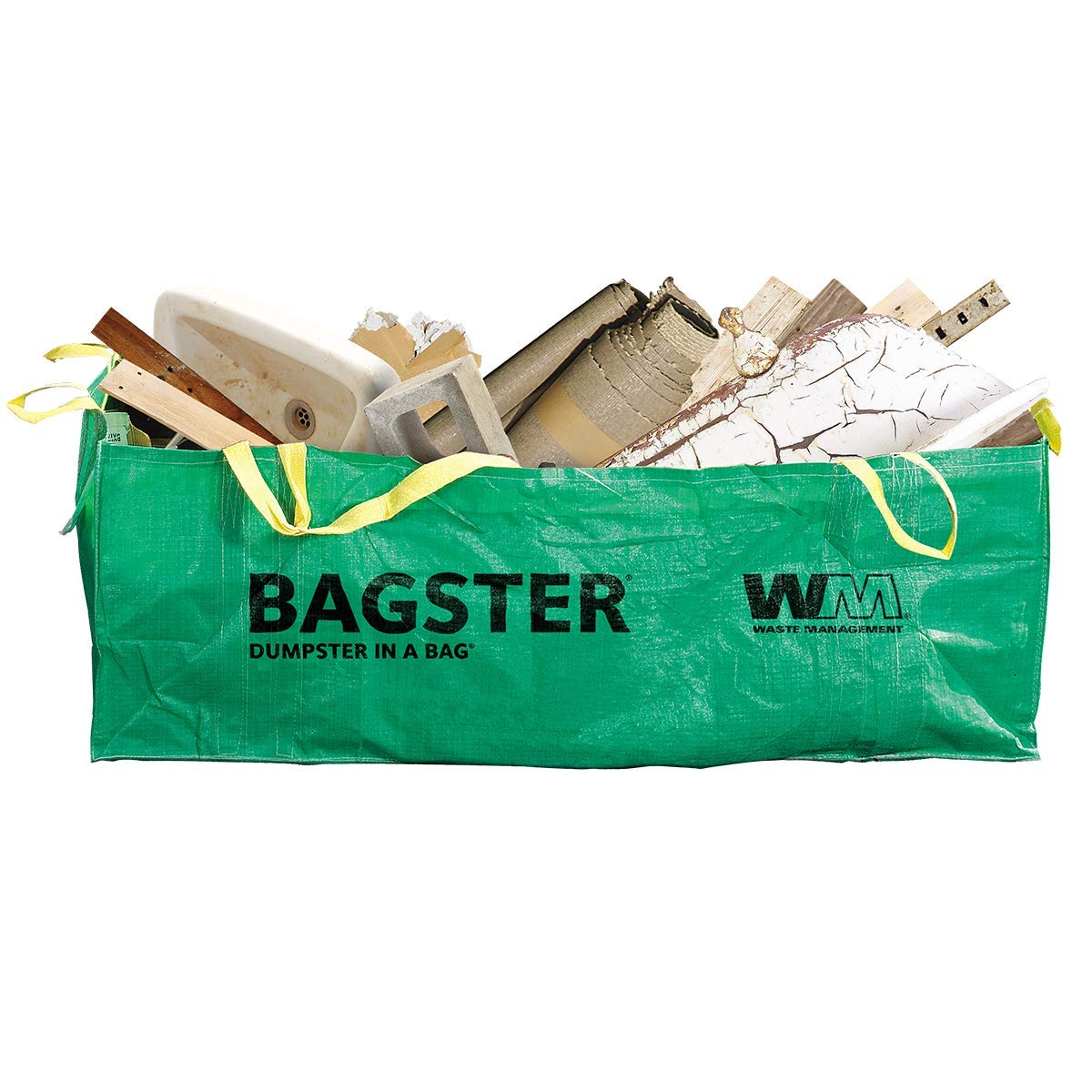 BAGSTER 3CUYD Dumpster in a Bag, Green by BAGSTER