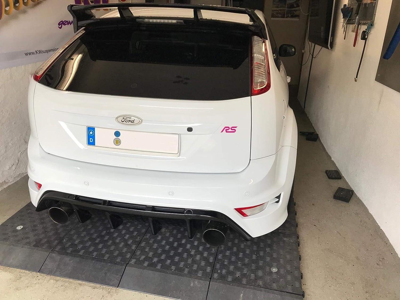 Performanceblau Focus RS MK2 3D Gelembleme Inlay Front+Heck+Sidewings freie Farbwahl