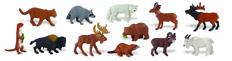 Safari Ltd Wild Safari North American Wildlife Bulk Bag