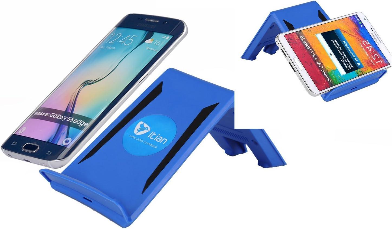 A6 Qi Wireless Charger Charging Pad For Samsung Galaxy Amazon De Elektronik