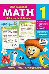 Math for 1st Grade - 200 Essential Math Skills (Mathseeds) Flexibound