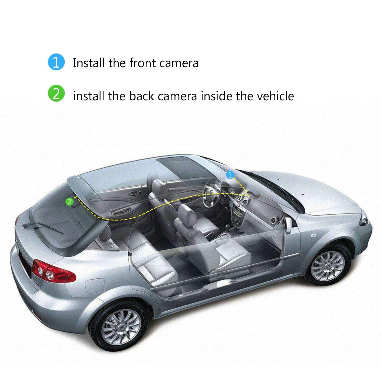z edge s3 dual dash cam ultra hd 1440p front 1080p