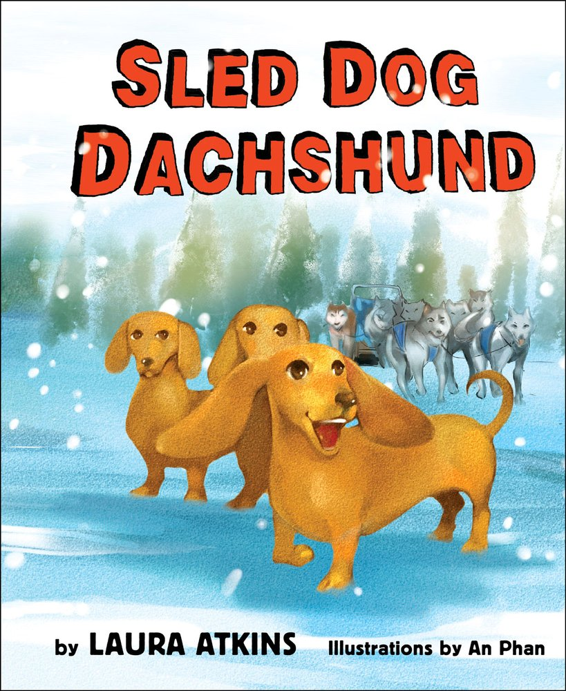 Sled Dog Dachshund by Minted Prose LLC (Image #1)
