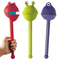 Educational Insights Monsters Puppet-on-a-Stick (Set Of 3