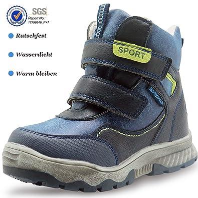 WINTER KINDERSCHUHE BOOTS Stiefel Warmfutter Schuhe Jungen